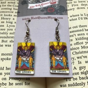 Kennedy London 💋 The Lovers Tarot Card Earrings Boutique
